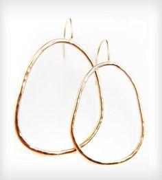 Gold Talia Hoop Earrings by Natasha Grasso on Scoutmob Shoppe