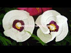 ▶ Flores Em Crochê 015 - Flor Papoula - YouTube