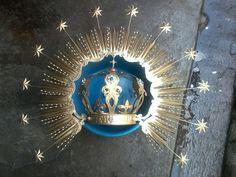 Corona imperial con chispa de 12 estrellas