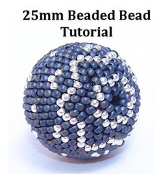 FOUR BEADED BEADS beading tutorial beadweaving pattern seed bead beadwork jewelry beadweaving tutorials beading pattern instructions Beaded Beads, Beaded Necklace Patterns, Seed Bead Patterns, Jewelry Patterns, Beading Patterns, Crystal Beads, Seed Bead Bracelets Tutorials, Beaded Bracelets Tutorial, Beading Tutorials