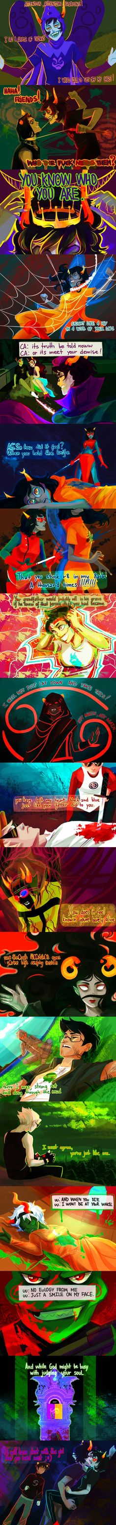Caught Like a Fly by Falling in Reverse Tags: Anime, Music, Mecha, Lyrics, Two-tone Hair, Homestuck, Terezi Pyrope