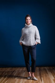 Ravelry: Auster (Hers) pattern by Michele Wang