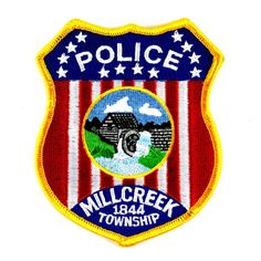 Millcreek PD Patch Law Enforcement Badges, Law Enforcement Agencies, Honor Guard, Patches For Sale, Local Police, Police Patches, Military Police, Law And Order, Forensics