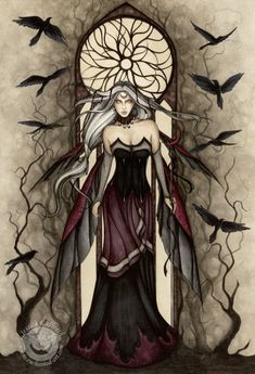 Morrighan Invocation Hail to thee Queen of blood soaked battle field Of fight Of flight Of dark winged messenger Sovereign Goddess of battle cries Of clan Of tribe Of standing bloody but unbowed Great...