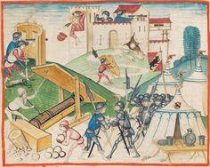Diebold Schilling, Amtliche Berner Chronik, Bd. 1 Bern · 1478-1483 Mss.h.h.I.1  Folio 132