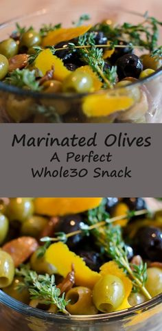 Marinate Olives #SundaySupper