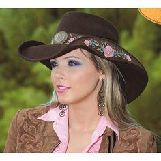 cowgirl | ... chemises cowboy, produits du far west - Sombrero Cowgirl Heart Breaker