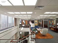 Mad Men - new office interiors season 5