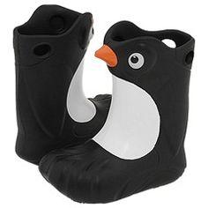 Penguin rain boots!