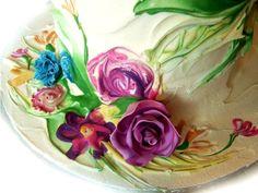 Le torte dipinte come quadri: le nuove frontiere del cake design - Casa & Design