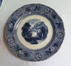 Antique Wedgwood Plate Pearl Stone Ware от marypearlsvintage