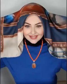 Hijab Turban Style, Mode Turban, Hijab Style Dress, Turkish Hijab Tutorial, Hijab Style Tutorial, Muslim Women Fashion, Islamic Fashion, Turkish Hijab Style, Bridal Hijab Styles