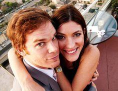 Dexter and Deb. No, Michael and Jennifer. Love them!!