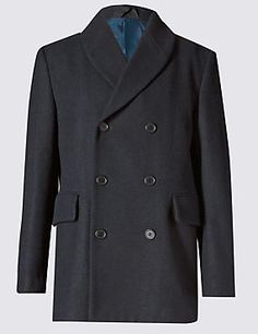 Peacoat with Wool
