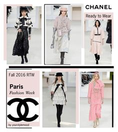 """""""Chanel Fall 2016 RTW"""" by yourstylemood ❤ liked on Polyvore featuring Chanel"""