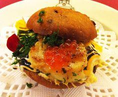 Vieira, crab and black olives/ Vieira, centollo y aceituna negra