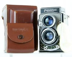 Refurbished Meopta Flexaret VI camera with 35 mm adapter - WORKING - CLA