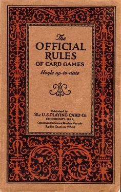 Canasta Rules Hoyle