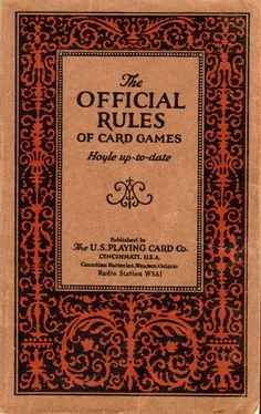 Official Rules of Card Games: Hoyle Up-to-Date