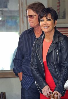 Pin for Later: Ces Célébrités Nous Prouvent Qu'il Est Possible de Rester Amis Avec Son Ex Bruce et Kris Jenner