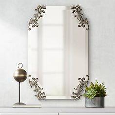 Oversized Wall Mirrors, Wall Mirrors Entryway, White Wall Mirrors, Lighted Wall Mirror, Silver Wall Mirror, Rustic Wall Mirrors, Round Wall Mirror, Mirror Set, Decorative Mirrors