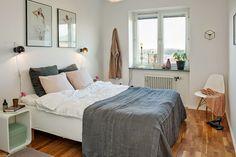 Blog wnętrzarski - design, nowoczesne projekty wnętrz: Urządzanie sypialni - styl skandynawski