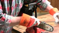 How to sharpen your chain saw blade.