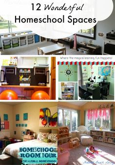 Home Learning Space Inspiration