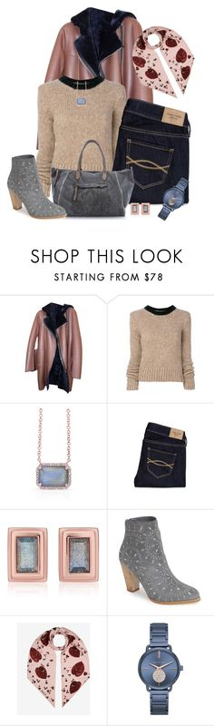 """Stay Toasty"" by michigangirl84 ❤ liked on Polyvore featuring Sandro, Marni, Anne Sisteron, Abercrombie & Fitch, Monica Vinader, Caterina Lucchi, Matisse, Bally and Michael Kors"