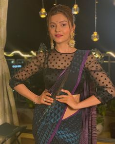 Romantic pictures of Shakti - Astitva Ke Ehsaas Ki actress Rubina Dilaik and Abhinav Shukla Bollywood Actress Hot Photos, Bollywood Girls, Bollywood Pictures, Saree Blouse Neck Designs, Dress Neck Designs, Cute Beauty, Beauty Full Girl, Hottest Tv Actresses, Designer Sarees Wedding