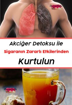 For smokers: how to make a detox potion to clean your lungs? Health Articles, Health Tips, Herbal Remedies, Natural Remedies, Fitness Tips, Health Fitness, Health Benefits Of Ginger, Wie Macht Man, Detox Drinks