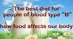 "The best diet for people of blood type ""B"" - how food affects our body! - Fit By Dance"