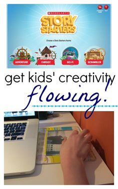 get kids' creativity flowing with @Scholastic story starters --> GREAT, free resource!