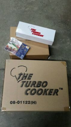 THE TURBO COOKER ~ Complete Cooking System ~ New!
