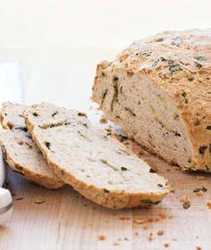 Basil Beer Bread