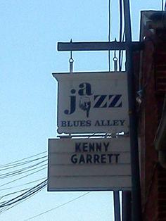 Jazz Blues Alley in Geogetown
