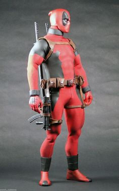 1 6 Custom 12 inch Deadpool Action Figure | eBay