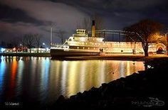 Featured Art - SS Sicamous Steam Ship 1/21/2014  by Guy Hoffman