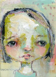 Face 27 original by Mindy Lacefield by mindylacefield on Etsy