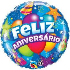 Globos Feliz Aniversario. Regalos y Globos Amer. www.regalosamer.com.mx