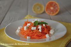 Insalata di carote e feta