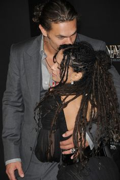…how MADLY IN LOVE THEY ARE. | We Don't Talk About Jason Momoa And Lisa Bonet…