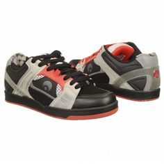 Osiris Jos1 Shoes (Black Cement Red) - Men s Shoes - 11.0 M Black 5c1bf75b436