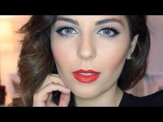 Blake Lively Hair & Makeup Tutorial: Old Hollywood Glam   Sona Gasparian - YouTube
