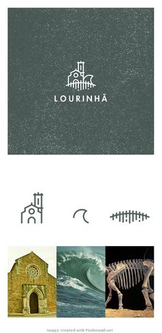 I would have used some negative space lines to add to the graphic reading. Right now it translates to a house with white picket fencing. I like it but knowing the intent, I would oush it a tad more. A-Marca-Lourinha