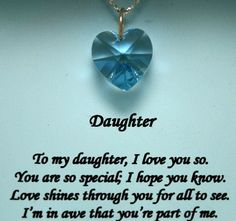 sayings for daughters from mothers | Daughter To Mother Poems And Quotes
