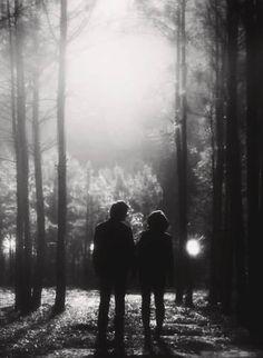 The Vampire Diaries: season 5, finale, Damon Salvatore and Bonnie Bennett