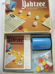 vtg 1978 YAHTZEE complete DICE GAME Milton Bradley vintage 70s NEW #MiltonBradley$14.28