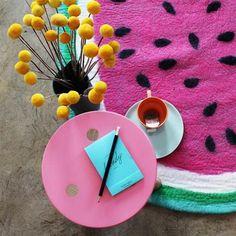 Tea Pea - Watermelon Rugs