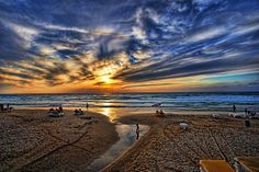 Tel Aviv, Israel http://fineartamerica.com/featured/evening-city-lights-ron-shoshani.html